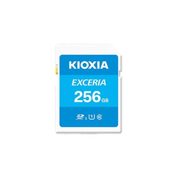 Kioxia 256GB 100Mb/s SD Card C10 Exceria Plus