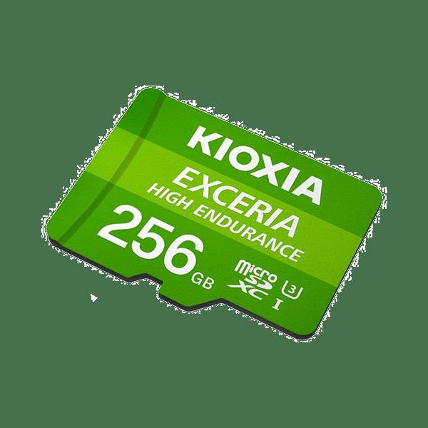 Kioxia 256GB Micro SD Card C10 Exceria High Endurance 2
