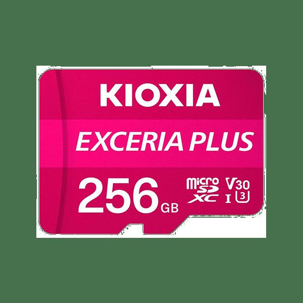 Kioxia 256GB Micro SD Card C10 Exceria Plus