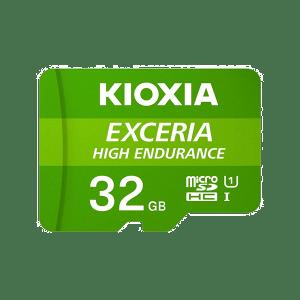 Kioxia 32GB Micro SD Card C10 Exceria High Endurance