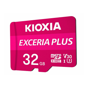 Kioxia 32GB Micro SD Card C10 Exceria Plus