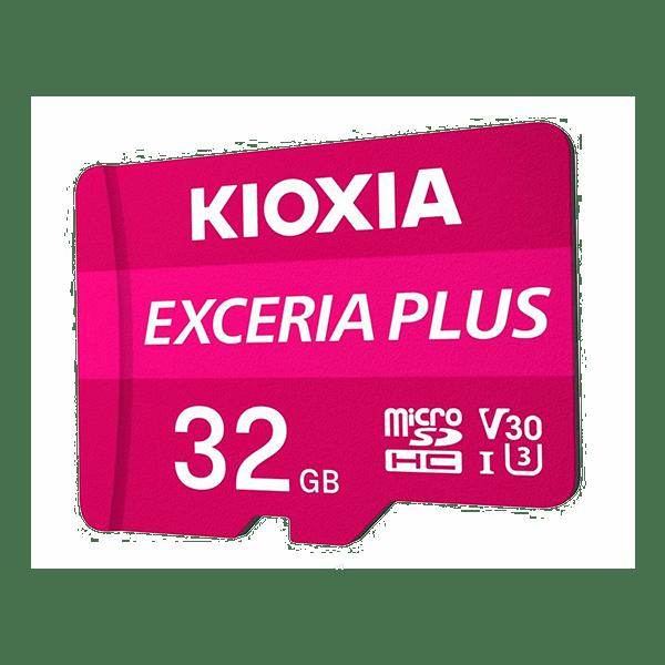 Kioxia 32GB Micro SD Card C10 Exceria Plus