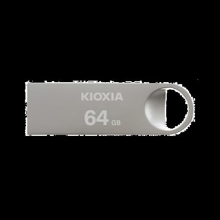 Kioxia 64GB 2.0 Metal USB for Windows & Mac