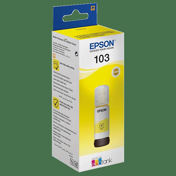 Epson 103 Ecotank Yellow Ink Bottle