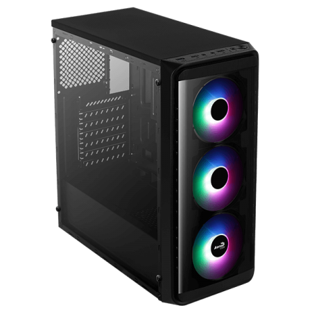 Aerocool SI-5200 Frost Mid Gaming Case 1