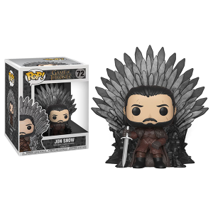 Funko Pop Deluxe GOT Jon Snow Throne
