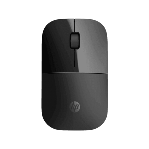 HP Z3700 Black Wireless Mouse 1