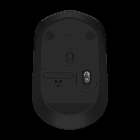 Logitech M170 Wireless Mouse Black 2