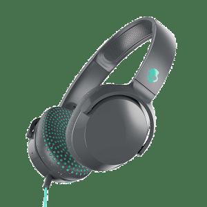 Skullcandy Riff Wired Headphone Grey Miami 1