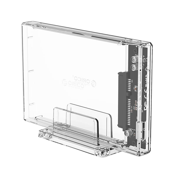 Orico Transparent HDD Enclosure With Stand