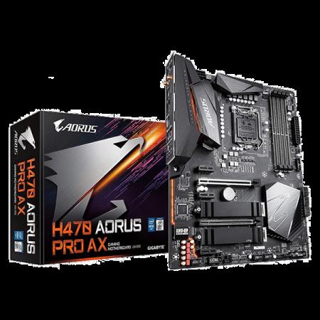 Gigabyte H470 AORUS PRO AX Motherboard 1