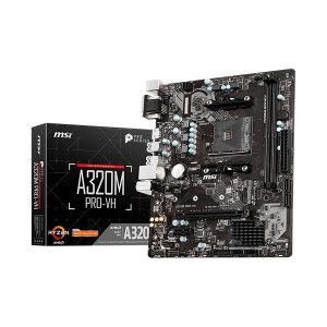 MSI A320M PRO-VH AMD Motherboard 1