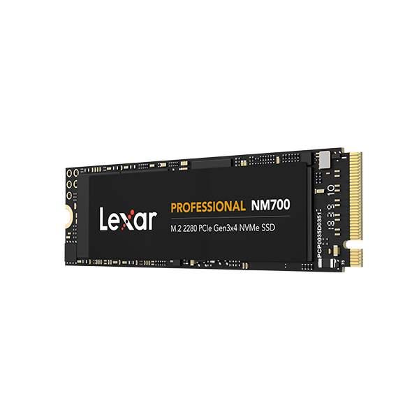 Lexar Professional NM700 M.2 2280 NVMe SSD 512GB