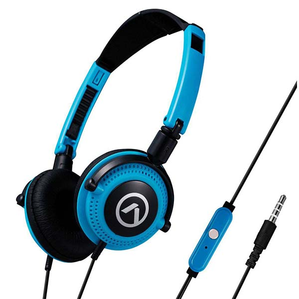 Amplify Symphony Headphones with Mic Blue