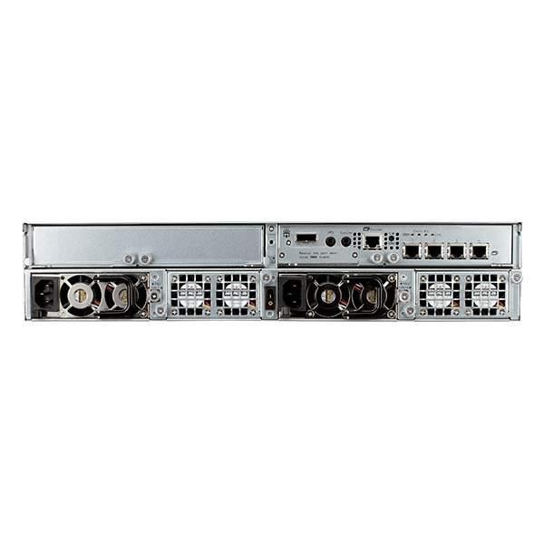 D-Link 12‑Bay 2U Rackmount iSCSI SAN Array with Single Controller 2