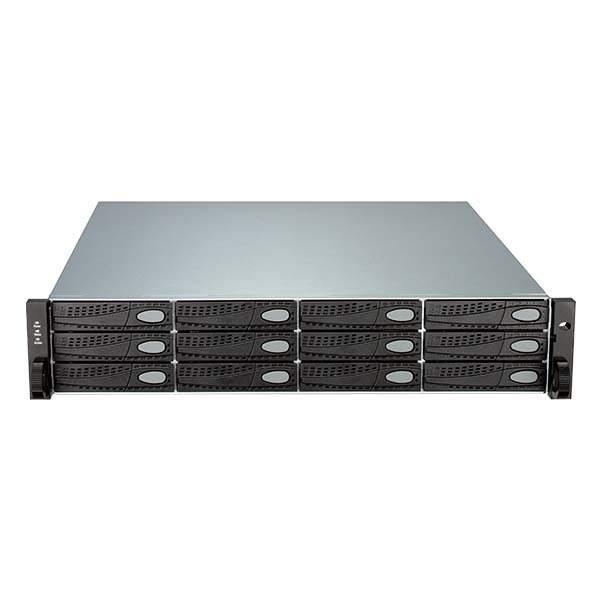 D-Link 12‑Bay 2U Rackmount iSCSI SAN Array with Single Controller 3