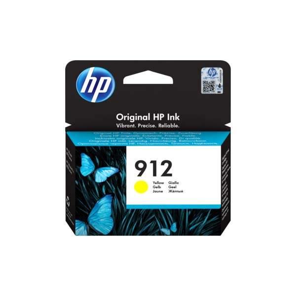 HP 912 Yellow Original Ink Cartridge