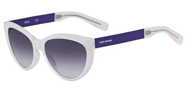 Hugo Boss 0214S Orange Sunglasses