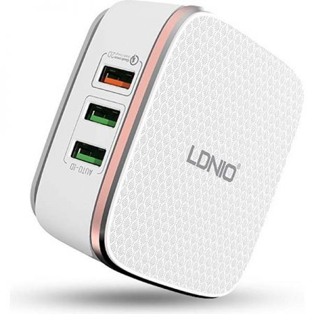 LDNIO Qualcomm 2.0 quick charger with 6 USB ports