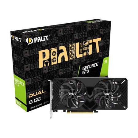 Palit GeForce® GTX 1660 Dual 6GB Graphics Card