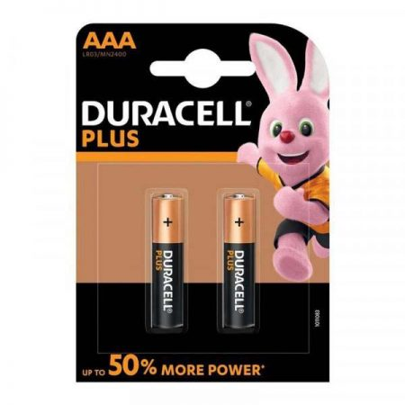 Duracell Plus Power AAA Batteries 2 Pack