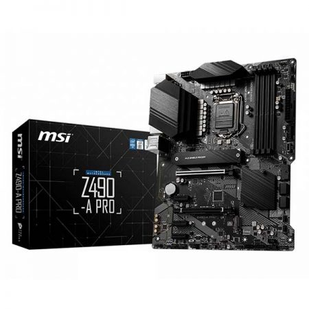 MSI Z490-A PRO Intel Gaming Motherboard
