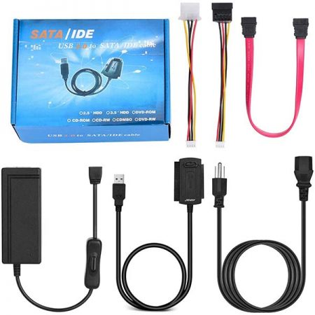USB 2.0 To SATA IDE Adapter Cable