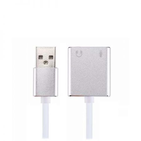 Baobab 7.1 USB 2.0 Sound Card With Cable
