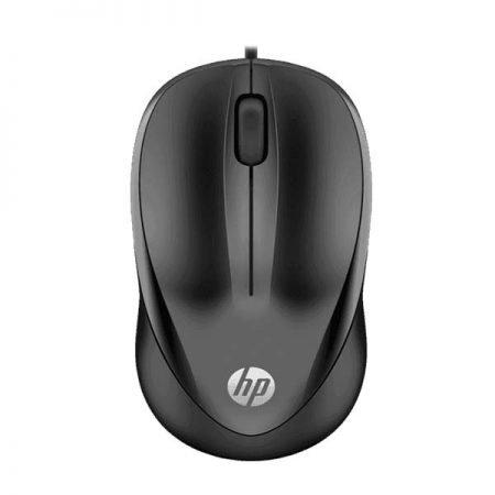 HP 1000 Wired USB Black Mouse