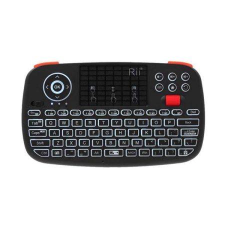 Rii Wireless Qwerty Backlit Gamepad Keyboard