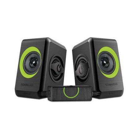 Sonicgear Quatro 2 USB Stereo Speaker Lime Green