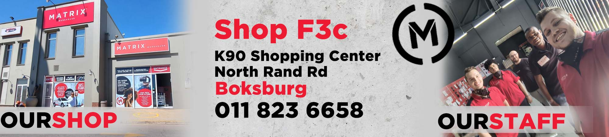 East Rand Landing page Banner